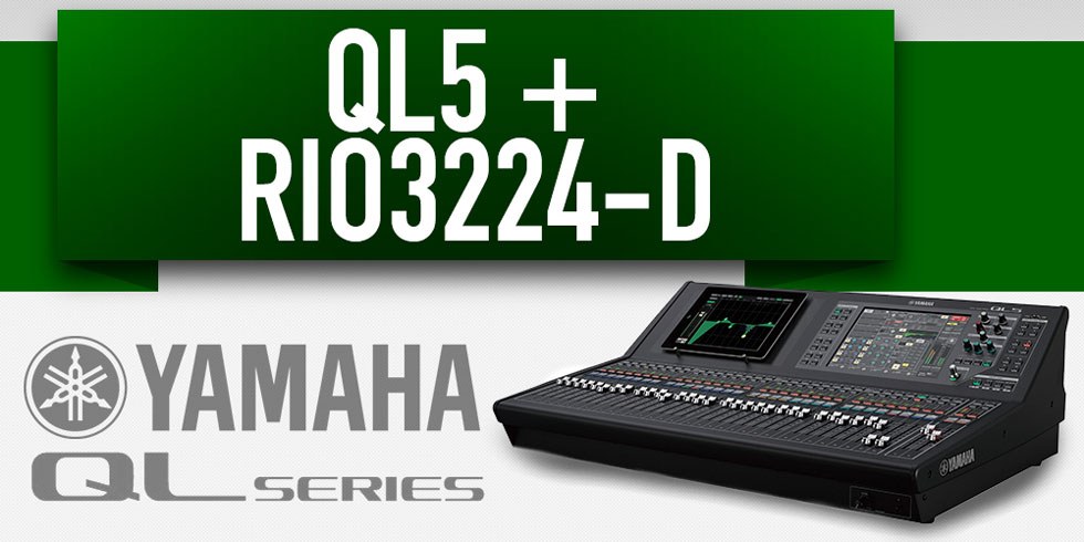 Yamaha QL5 Rio 3224 D BARE Events And Productions