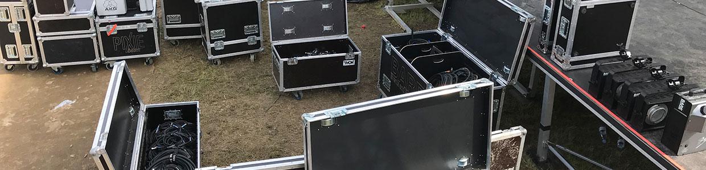 Udlejning af lyd og lys på Bornholm af BARE Events and Productions