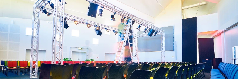 Leje af lyd og lys til modeshow på Bornholm af BARE Events and Productions